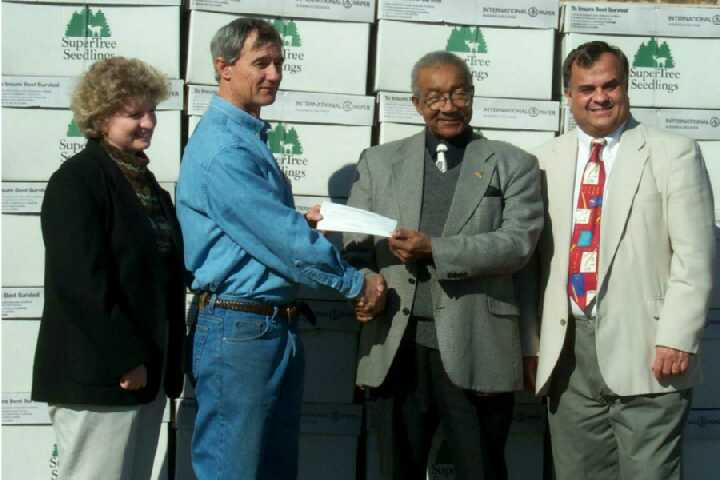 Grant from International Paper Dec. 21, 2000